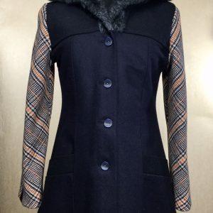 Ladies cocoon coat