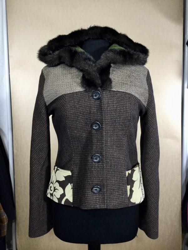 Ladies cocoon jacket